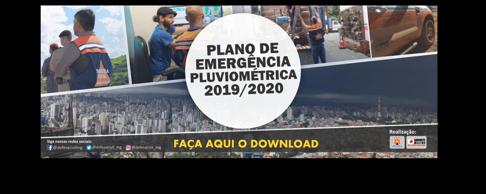 Plano Pluviométrico 2019